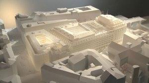 Model of renovation project. (SANAA)