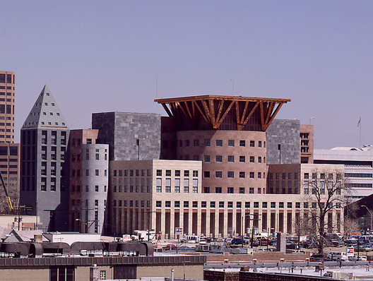 Denver Central Library, by Michael Graves. (Michael Graves)