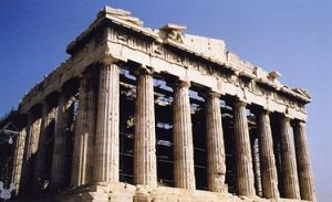 The Parthenon, in Athens. (Wikipedia)