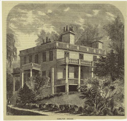 John Hamilton's Hamilton Grange. (uptownflavor.wordpress.com)