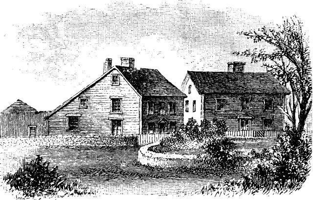 John Adams's house in Quincy, Mass. (famousamericans.net)