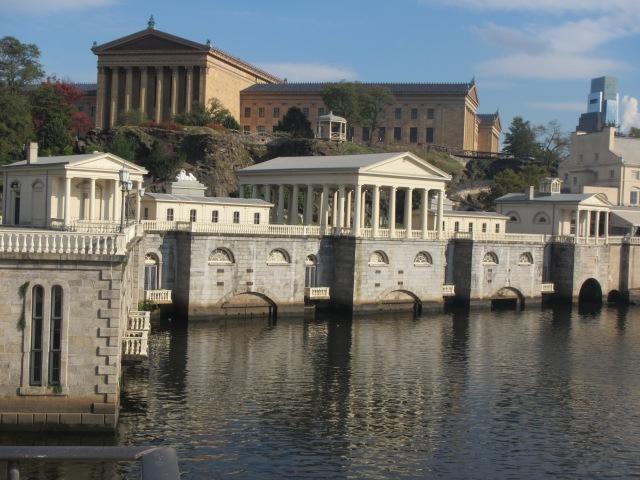 Fairmont Waterworks, c.1800, near Philadelphia Museum of Art. (halifaxbloggers.ca)