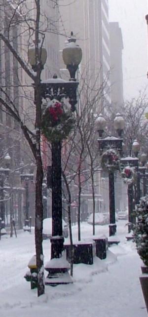 Westminster Street lampposts.