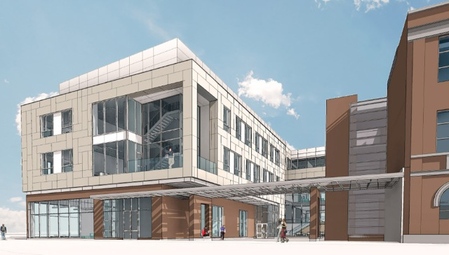 Rendering of Johnson & Wales engineering and architecture departments. (JWU)