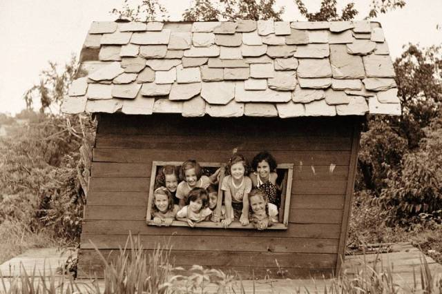 Author Dale Hrabi's playhouse as a child in Alberta. (WSJ)