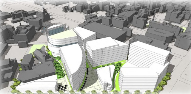 Axionomic plan of Wexford development. (Greater City Providence)
