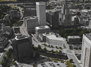 Proposed hotel in context. (ZDS)