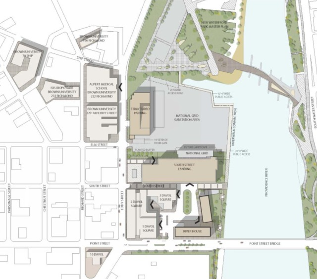 Plan of South Street Landing project. (gcpvd.org)