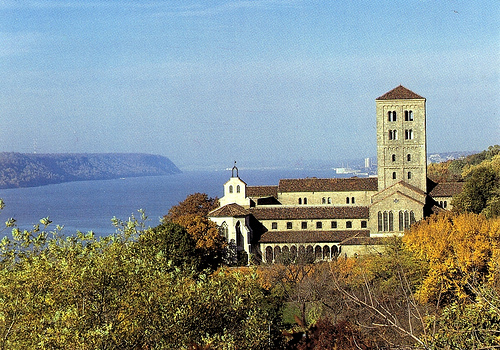 The Cloisters at Fort Tryon Park, New York City. (