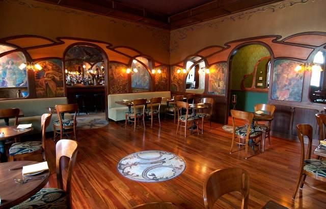 Loie Fuller restaurant, in Providence, designed by Kyla Coburn. (pinterest.com)