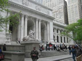 New York Public Library. (therehereandback.com)