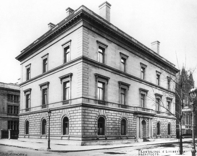 Blumenthal mansion at 710 Park Ave. (nysonglines.com)