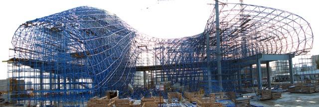 Zaha Hadid's Heydar Aliyev Cultural Centre. (buildipedia.com)