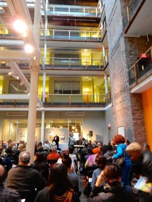 Atrium of Peerless Building.