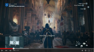 Ezio enters the Duomo. (ArchDaily/Ubisoft)