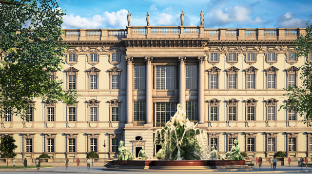 Berliner Schloss as expected to look on completion in 2019. (Berliner Extrablatt)