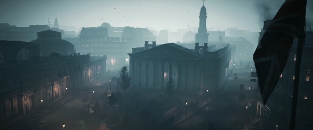 Screen shot of Assassin's Creed I, which takes place in London circa 1850. (Ubisoft)