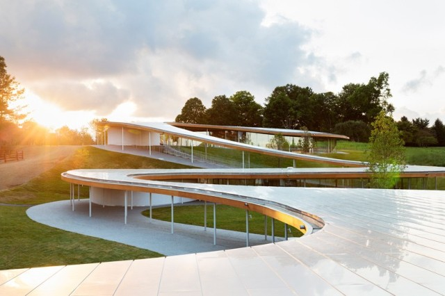 The River, a pavilion by SANAA in New Canaan, Conn. (worldarchitecturenews.com)