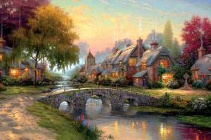 thomas_kinkade_oil_painting