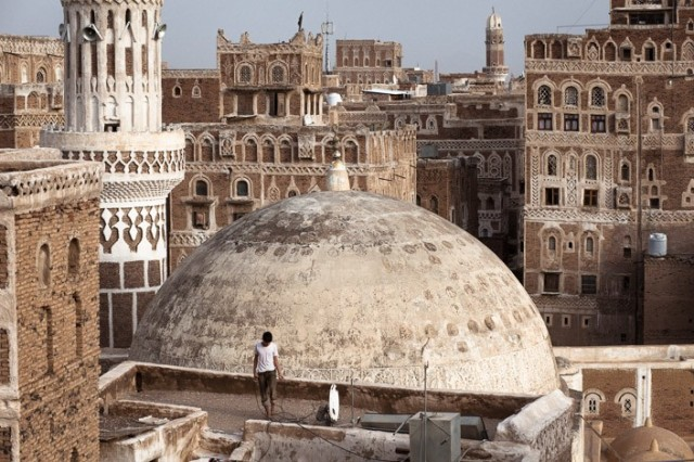 Brolin On Vandalizing Yemen Architecture Here And There