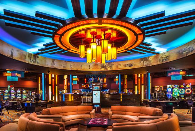 Evolution of casino design architecture here and there